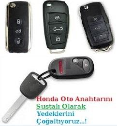 Honda Sustalı Anahtar